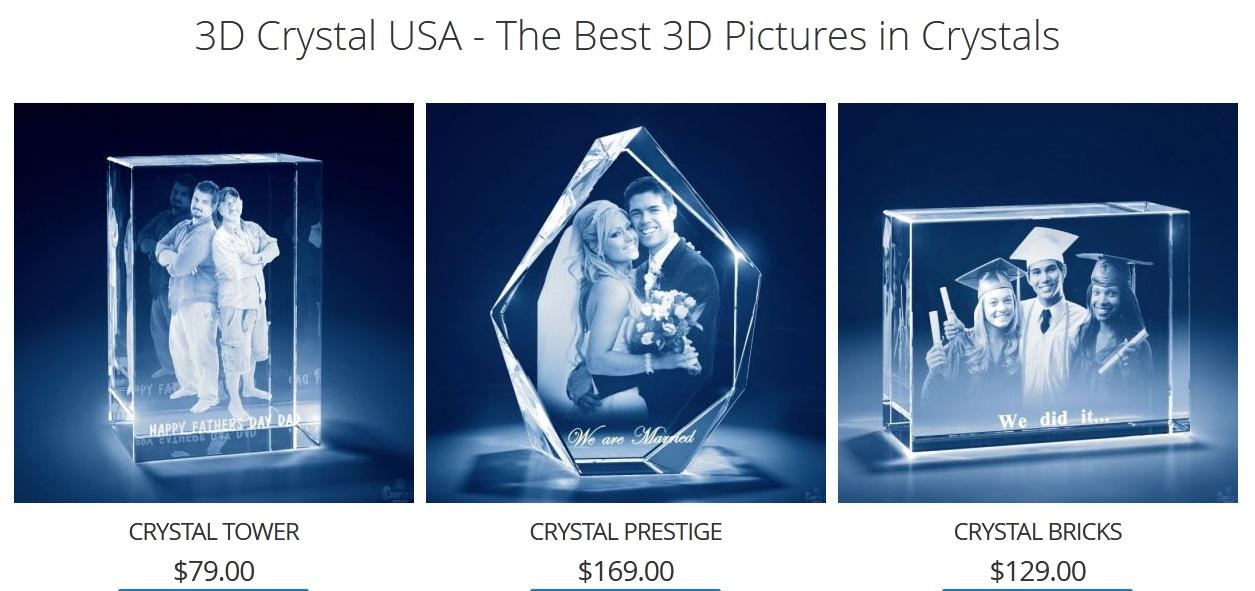 3D Crystal USA